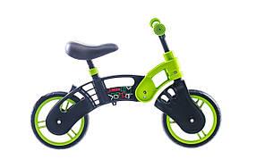 Беговел SMALL RIDER 2014 (черно-зелен.)