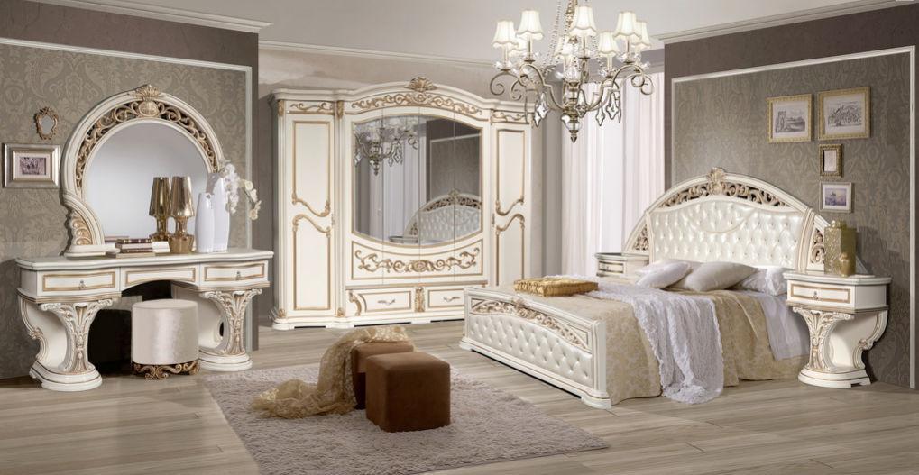 Спальня Латифа - Флоренция (Бежевый) (с доставкой)