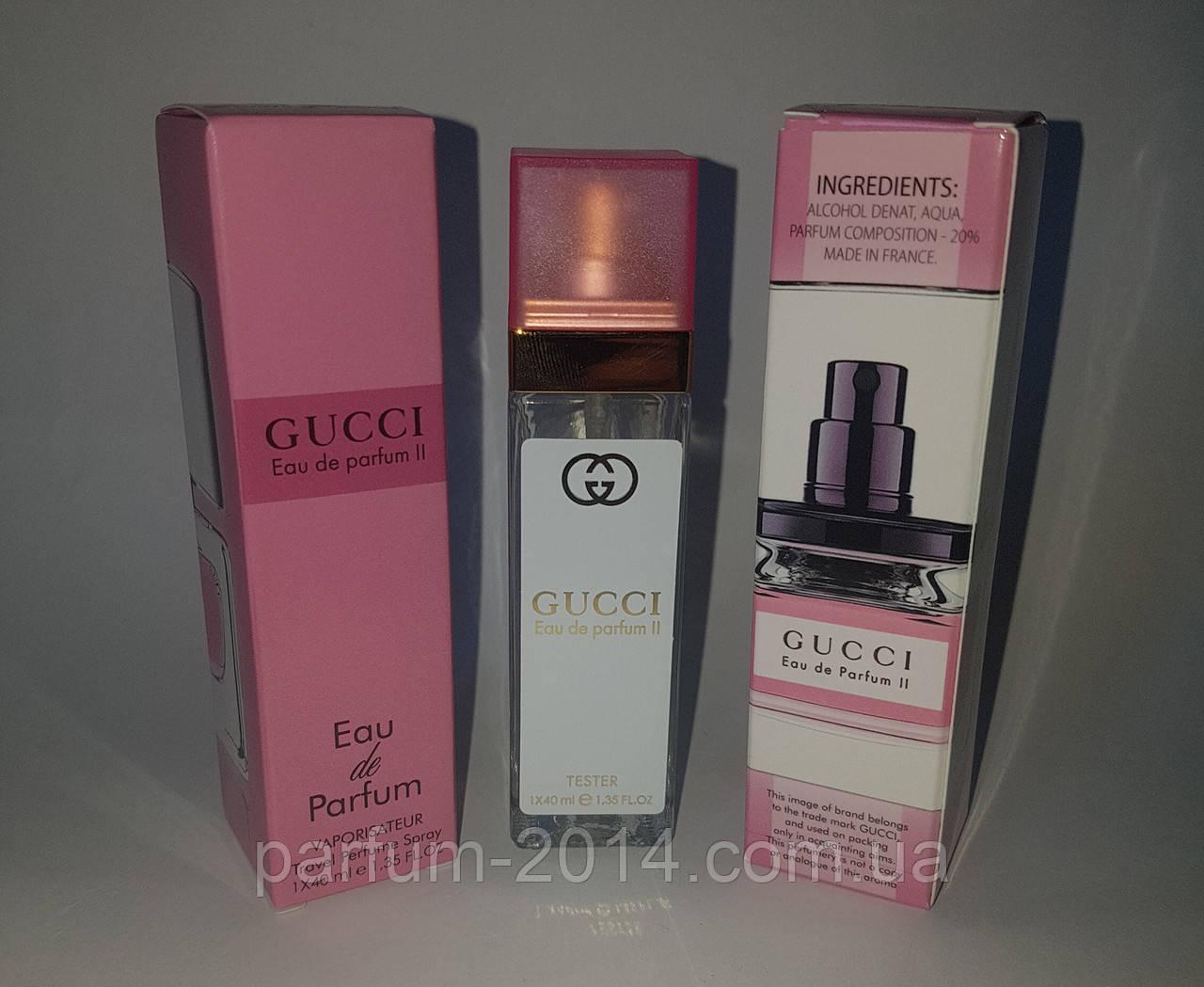 мини парфюм Gucci Eau De Parfum Ii 40 Ml реплика цена 81 грн