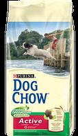 DOG CHOW Active.корм для активных(рабочих)собак на основе мяса курицы 14кг