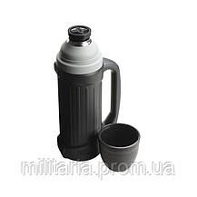 Термос фирмы Термос (Thermos) с чашкой 1 л Hercules Stainless Steel Flask (150040), фото 3