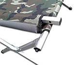 Кемпинговая алюминиевая раскладушка, фото 4
