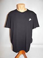 Мужская футболка Nike реплика р.52 191Ф черная, фото 1