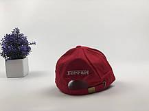 Кепка бейсболка Авто Ferrari (Красный), фото 3