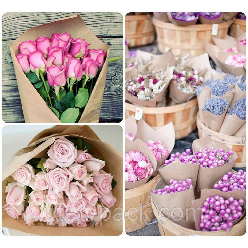 Оберточная бумага для цветов, размотка на рулоны по индивидуальным заказам