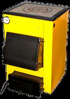 Твердотопливный котел Буран-мини 12 кВт с варочной поверхностью
