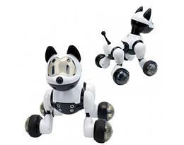 Собака на радио управлении MG014 (звук,свет,ездит и танцует)