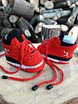 Пинетки кроссовки Jordan от Nike вязанные