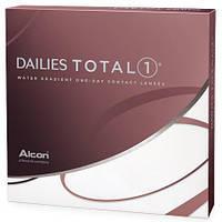 Контактные линзы однодневные  Dailies Total 1