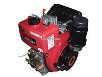 Двигатель дизельный WEIMA WM178FE(есть вал ШЛИЦЫ, ШПОНКА), дизель 6.0л.с., Эл/ст