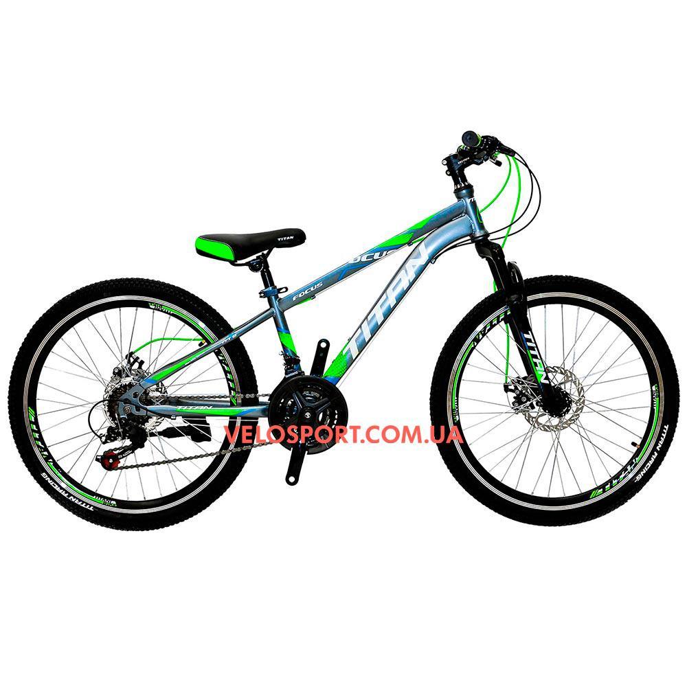 Подростковый велосипед Titan Focus 24 дюйма