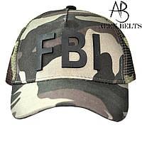 Мужская кепка бейсболка FBI (хаки) р. 57-59-купить оптом в Одессе