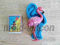 """Силиконовый молд """"Фламинго"""""""