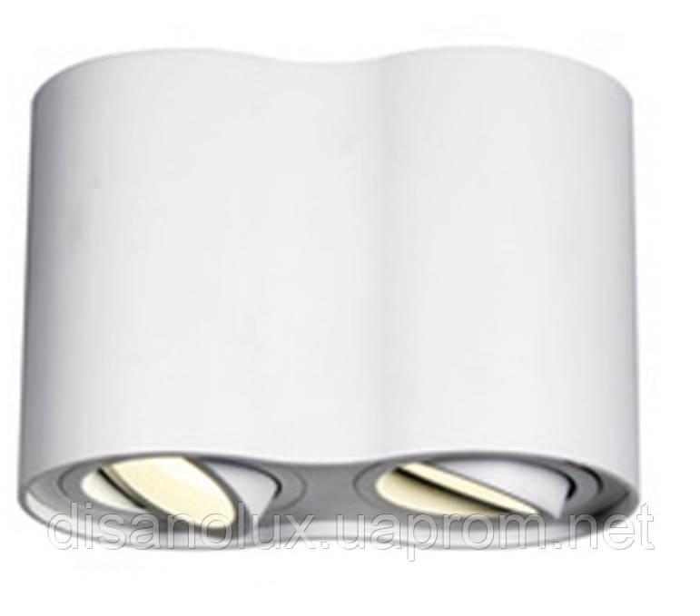 Светильник Downlight LED DL -102  2*GU10 230в  белый