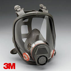 Повна маска 3М 6900 L серії 6000, великий розмір