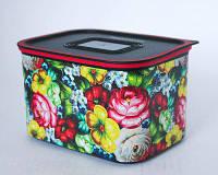 Cудок Акваконтроль Цветочный Узор 1.3л Tupperware