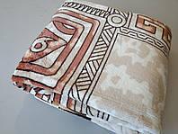 Микрофибровая простынь, покрывало Elway полуторное Египет коричневый