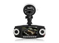 Видеорегистратор Автомобильный DVR V60 + GPS + 2 Камеры , фото 1