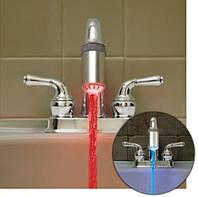 Насадка на кран с LED подсветкой с функцией экономии воды