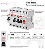 Автоматичний вимикач ABB Basic M BMS411C50 1P C 50A, фото 2
