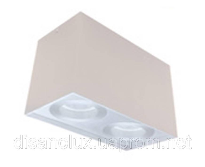 Светильник потолочный Downlight  DL -103 2*GU10 230в  белый