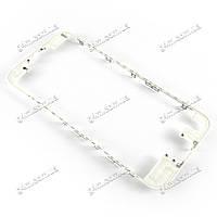 Рамка крепления дисплейного модуля для Apple iPhone 6S (белая)