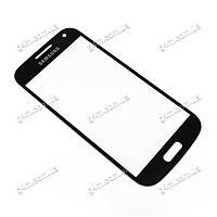 Стекло сенсорного экрана для Samsung  i9190 Galaxy S4 Mini, i9195 Galaxy S4 Mini, i9192 Galaxy S4 Mini Duos, i9197 Galaxy S4 Mini черное