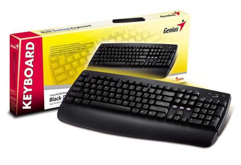 Клавиатура Genius KB-110 PS/2 Black