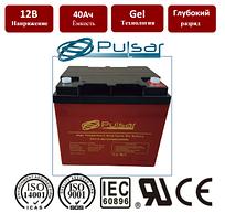 Температуроустойчивая гелевая батарея c длительным сроком службы Pulsar HTL12-40