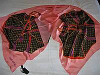 Шарф Louis Vuitton тонкий шёлк 100%