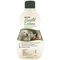 Шампунь Sentry Pro Natural Defense от блох и клещей для собак и щенков, 0,355 л