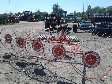 Сіноворушилка 4 колеса польська