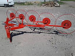 Сеноворошилка 4 колеса польская, фото 3
