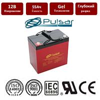 Температуроустойчивая гелевая батарея c длительным сроком службы Pulsar HTL12-55
