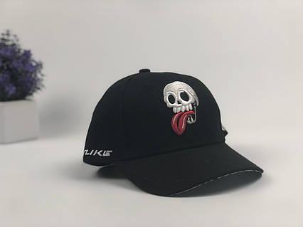 Кепка бейсболка Wuke череп (черный), фото 2