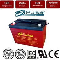 Температуроустойчивая гелевая батарея c длительным сроком службы Pulsar HTL12-100