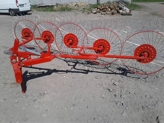 Сонечко гребка 5 колёс Agromech Польща, фото 2