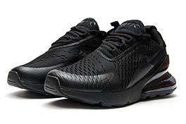 Кроссовки мужские Nike Air 270, черные (12779),  [  40 42 43 44  ]