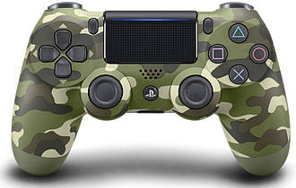PlayStation Геймпад беспроводной PlayStation Dualshock v2 Green Cammo