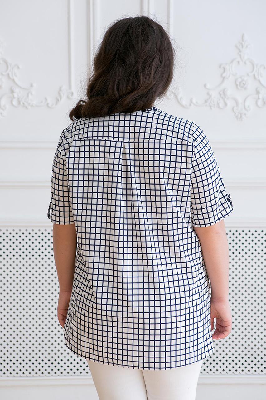 1b57af6f2723 Женская рубашка большого размера АРМИНА ТМ Таtiana 56-62 размер, цена 550  грн., купить Ахтырка — Prom.ua (ID#714872680)