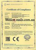 Наши сертификаты качества на Вытяжки, Лампы, Сухожары и Фрезера.