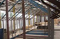 Каркасное строительство зданий и сооружений