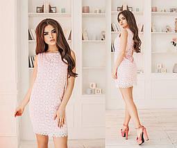 Короткое платье в цветок, фото 3
