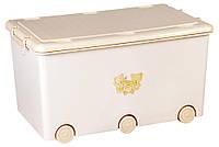 Ящик для игрушек Tega Teddy Bear  бежевый