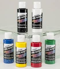 Краски для аэрографии Createx Colors / Createx Opaque Set.