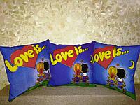 Подушка сувенирная Love is