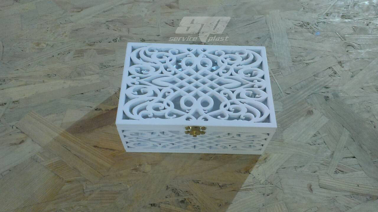 Свадебный декор: коробочка для колец, сундучок для колец, шкатулка