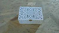 Свадебный декор: коробочка для колец, сундучок для колец, шкатулка, фото 1