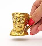 Коллекционная миниатюра, мини бокал, бронза, литье, Германия, фото 3