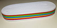 Резинка 3,5 см модель № 3 - радуга